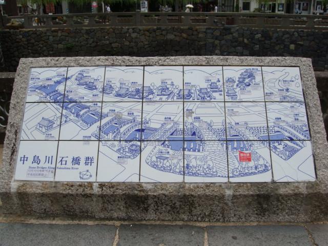 中島川石橋群