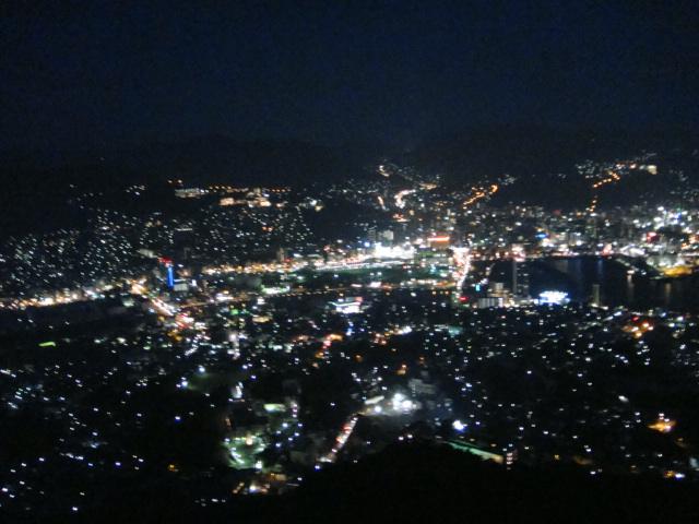 稲佐山より長崎の夜景