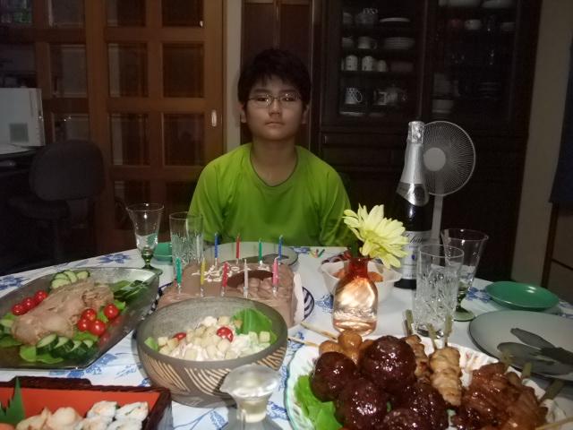 お誕生日を迎えた下の子