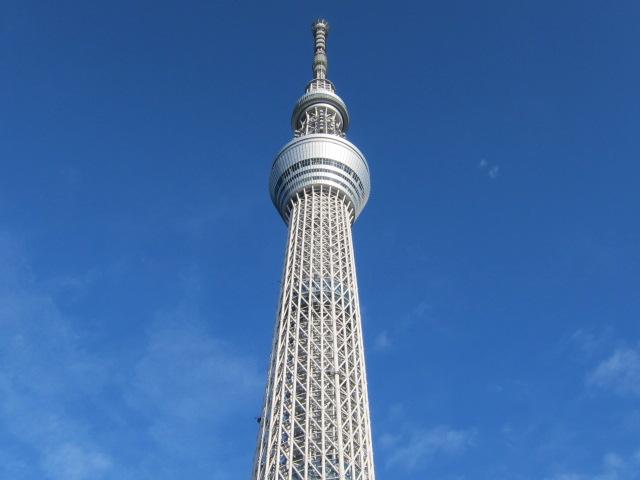 東武橋から望む東京スカイツリー